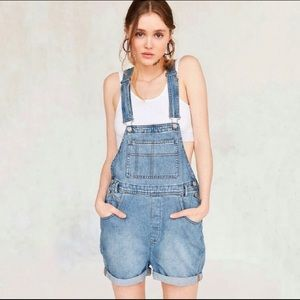 Urban Outfitters BDG Denim Overalls Shorts
